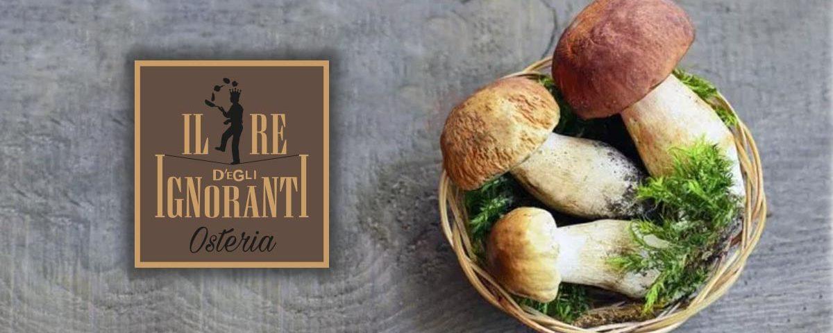 Menù Stasera tutti Portcini - Osteria Il re D'Egli Ignoranti - San Martino Alfieri - Asti